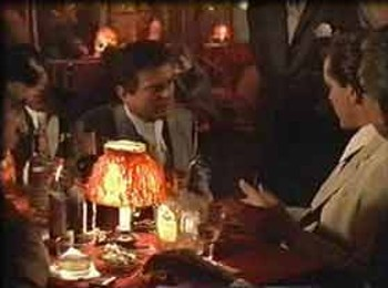 Restaurant Scene from Goodfellas