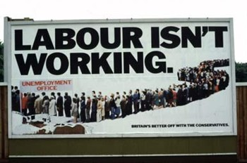 """Labour Isn't Working"" Billboard"