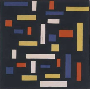 &quot;Composition VII: The Three Graces&quot; by Theo van Doesburg (1917)