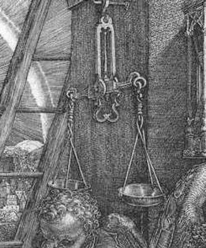 """Melancholia I"" by Albrecht Dürer"