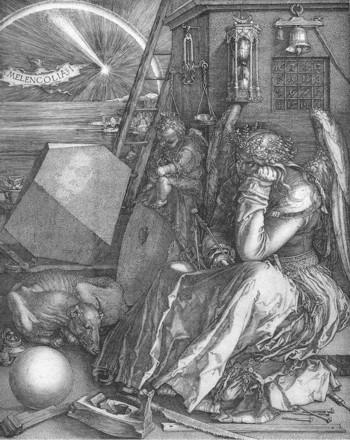 """""""Melencholia I"""" by Albrecht Dürer"""