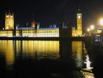 Biker Tony's Photograph of Parliament at night