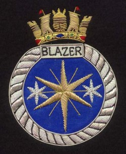 Crest for HMS Blazer