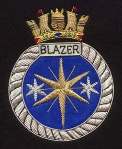 Crest for HMS Blazer