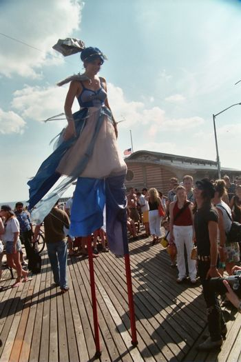 Mermaid on Stilts