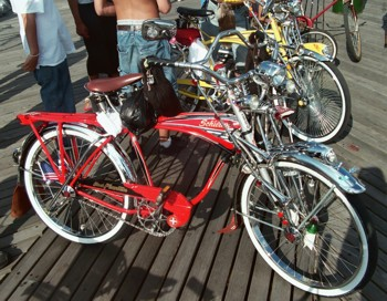Tricked Out Bikes - Red Bike