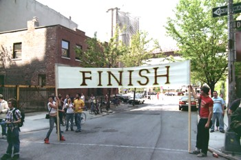 Finish Line Unfurling (Stage 6)