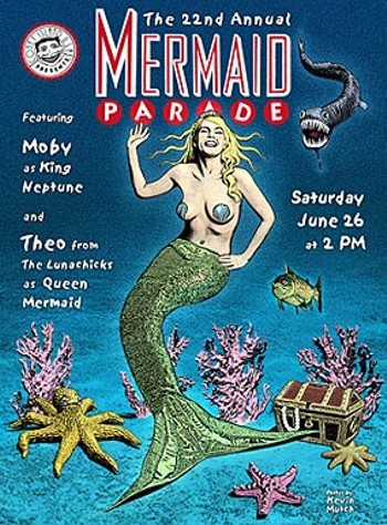 Mermaid Parade Poster