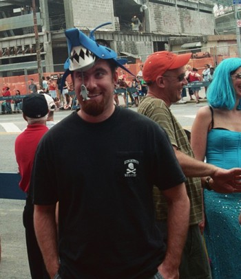 Shark Hat With Bait