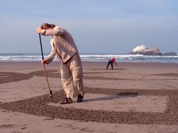 Raking Sand