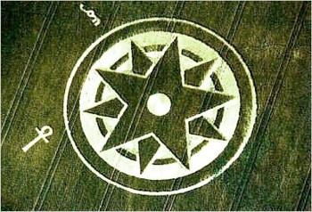 Star Pattern Crop Circle