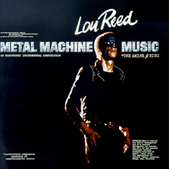Album Cover for Metal Machine Music (front)