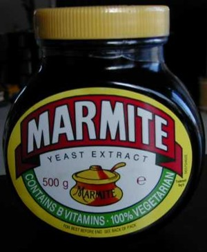 Marmite Jar (front)