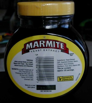 Marmite Jar (back)