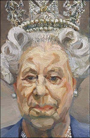 Lucien Freud's Portrait of Queen Elizabeth II