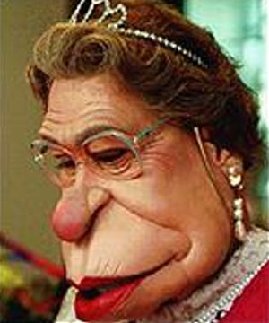 Spitting Image Puppet for Queen Elizabeth II