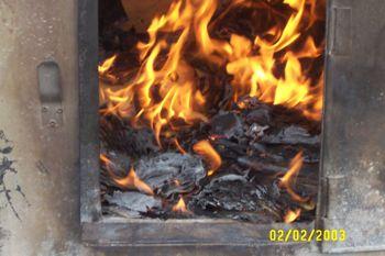 Burning Hell Money