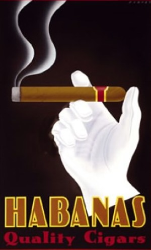 Art Deco Cigar Ad