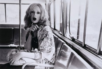 Candy Darling photographed by Gerard Malanga, circa 1971