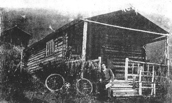 Robert W. Service's Cabin in the Yukon Valley
