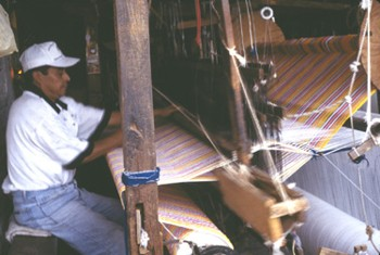 Weaver from Vasquez, Mexico