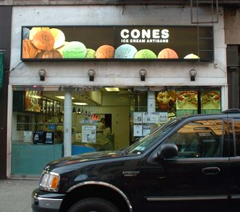 Street View of Cones (Ice Cream Artisans)