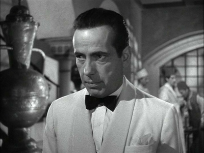 Rick Blaine (Humphrey Bogart) from Casablanca
