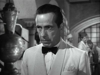 Rick Blaine (Humphrey Bogart) from Casablanca