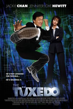 "Movie Poster for ""The Tuxedo"" Starring Jackie Chan"