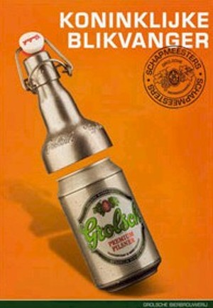 Grolsch Blikbeugel