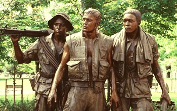 Hart's Sculpture at Vietnam Memorial