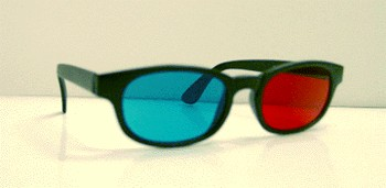 Fancier 3D red/blue glasses