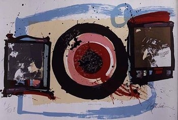 Painting 'Something New Has Been Added' by Ralph Steadman