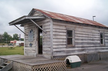 Shotgun Shack of blues musician John Adam &quot;Sleepy John&quot; Estes
