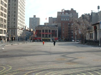 Union Square Facing East