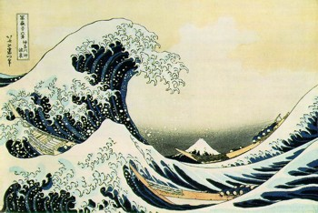 Hokusai's Great Wave off Kanagawa
