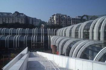 Current View of Les Halles