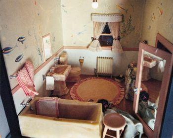 Nutshell Study Number 7: The Pink Bathroom