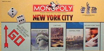 New York version of Monopoly