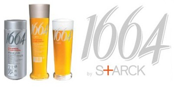 Philippe Starck's package design for Kronenbourg Beer