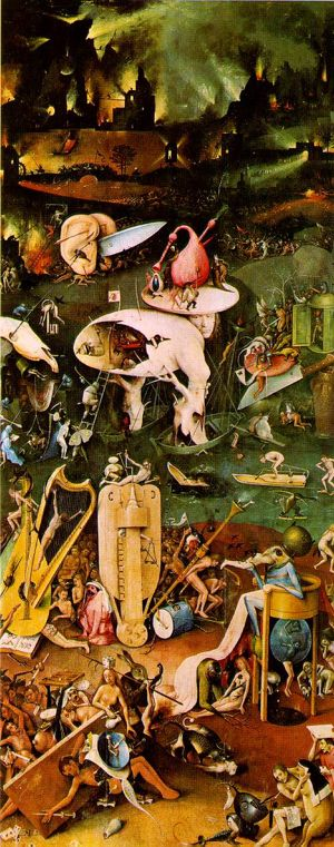 Bosch's Garden of Earthly Delights (Hell)