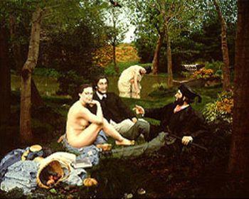 Edouard Manet's Le Dejeuner Sur l'Herbe