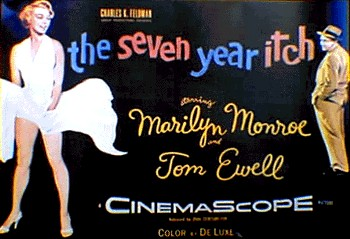 Poster of Marilyn Monroe on Subway Grate from The Seven Year Itch