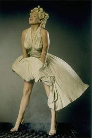 Seward Johnson's Marilyn Monroe on Subway Grate